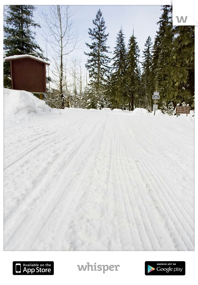 I just want a guy to come pick me up on their snowmobile and take me for a ride. :)