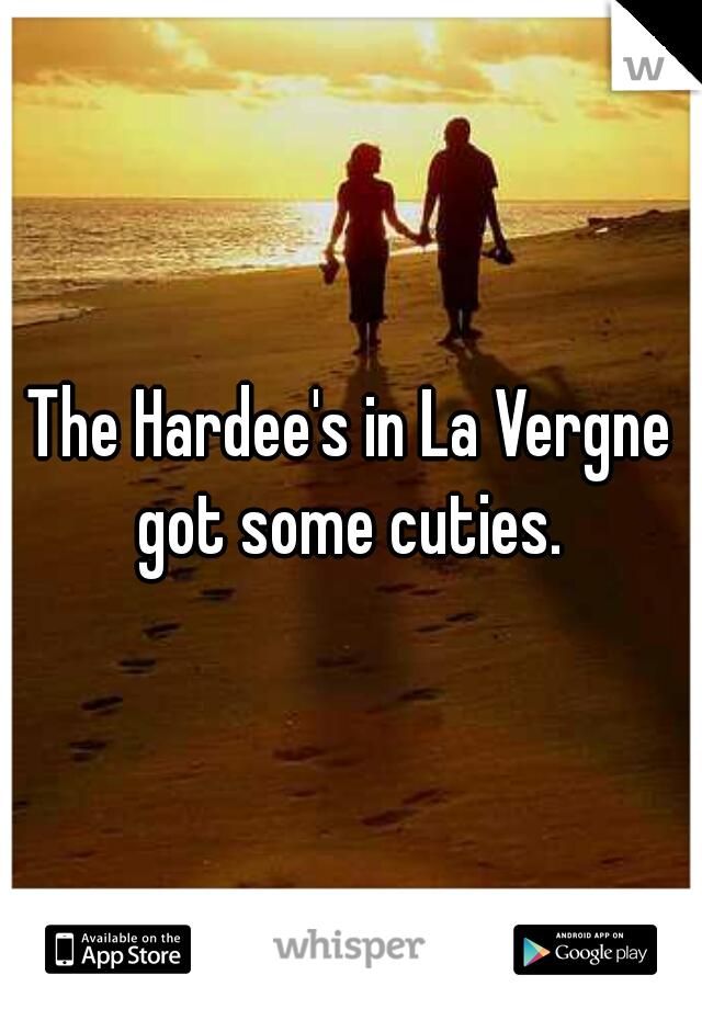 The Hardee's in La Vergne got some cuties.