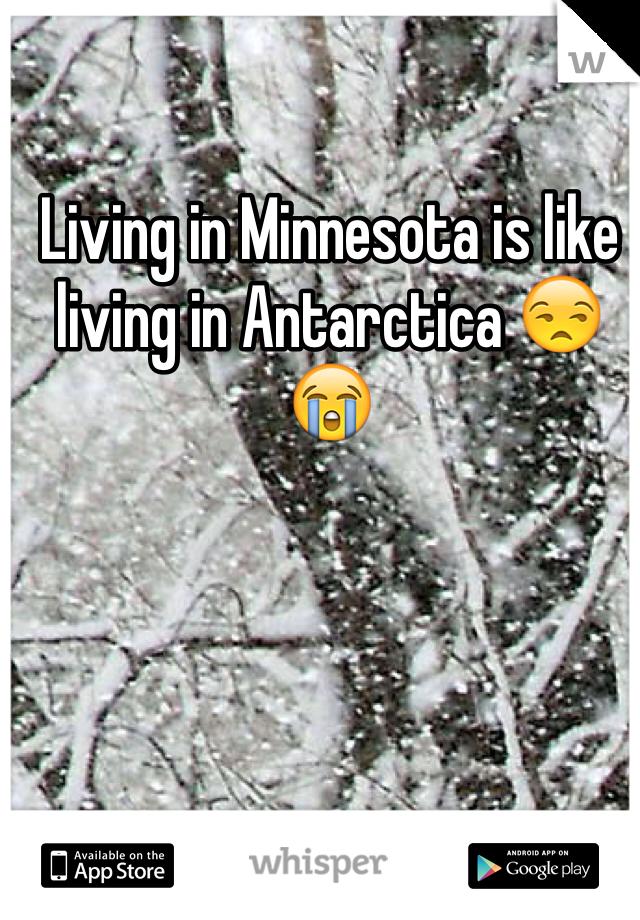 Living in Minnesota is like living in Antarctica 😒😭