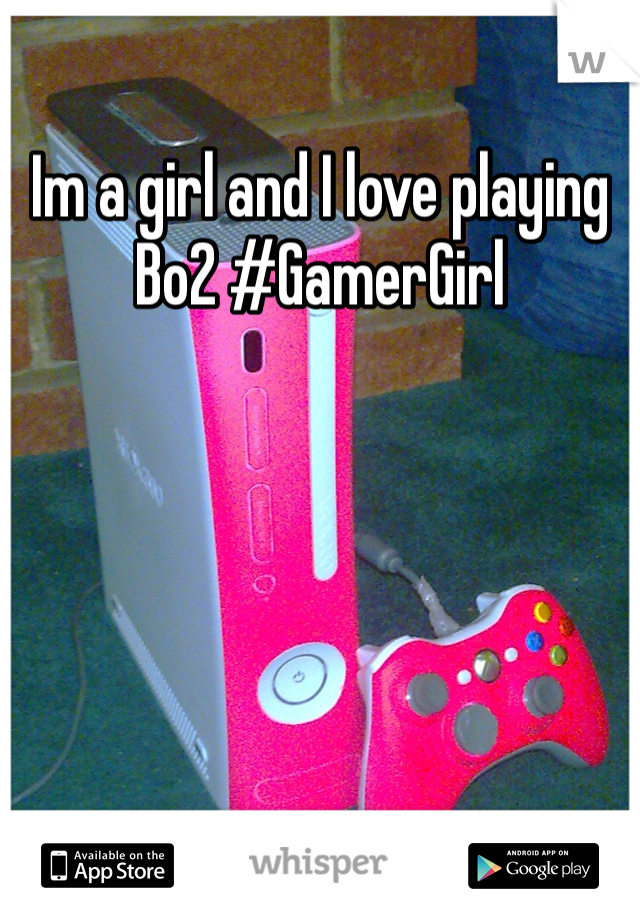 Im a girl and I love playing Bo2 #GamerGirl