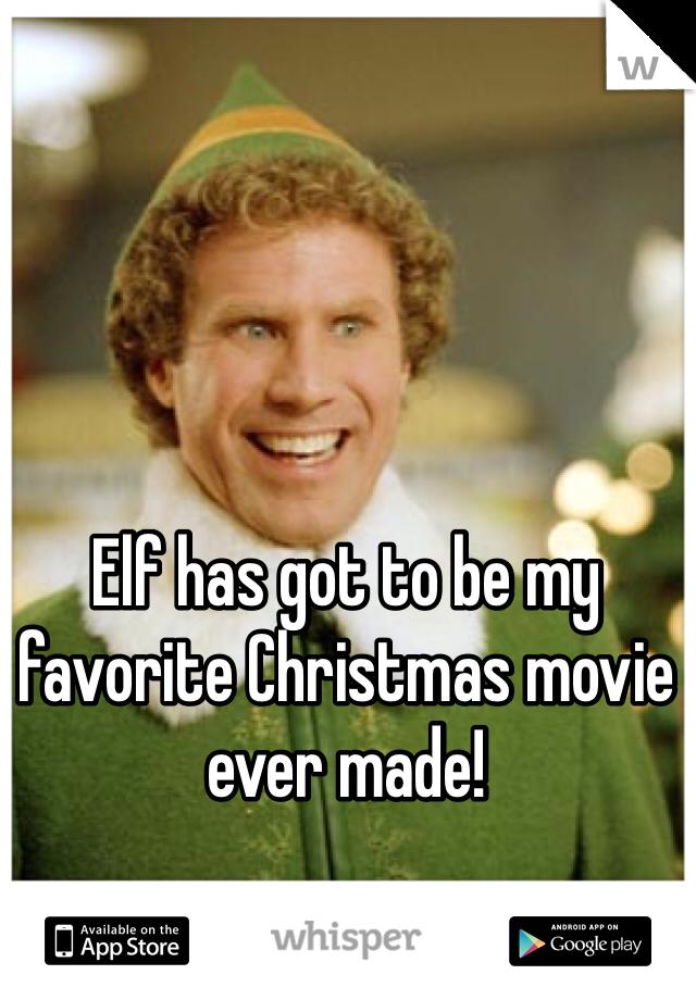 Elf has got to be my favorite Christmas movie ever made!