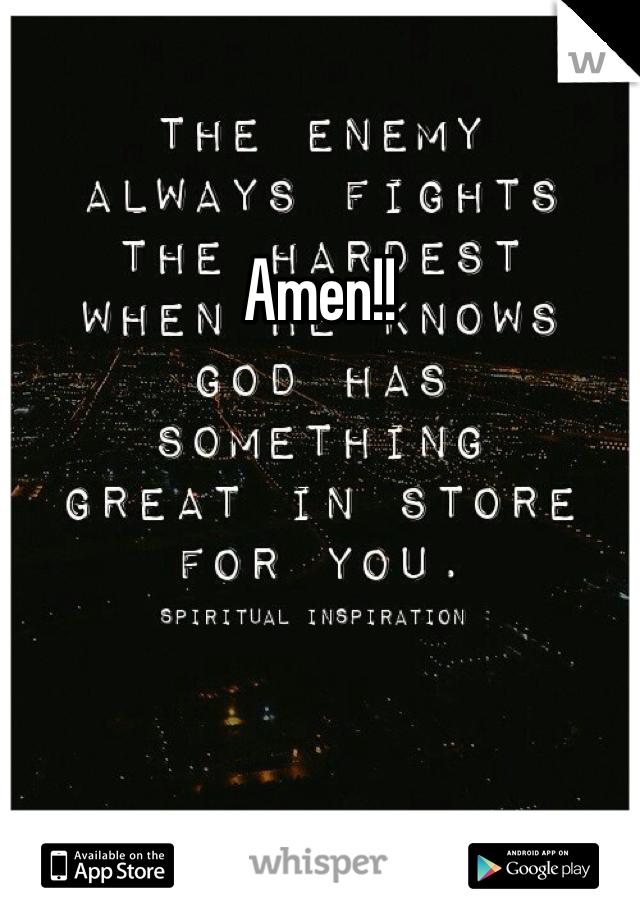 Amen!!