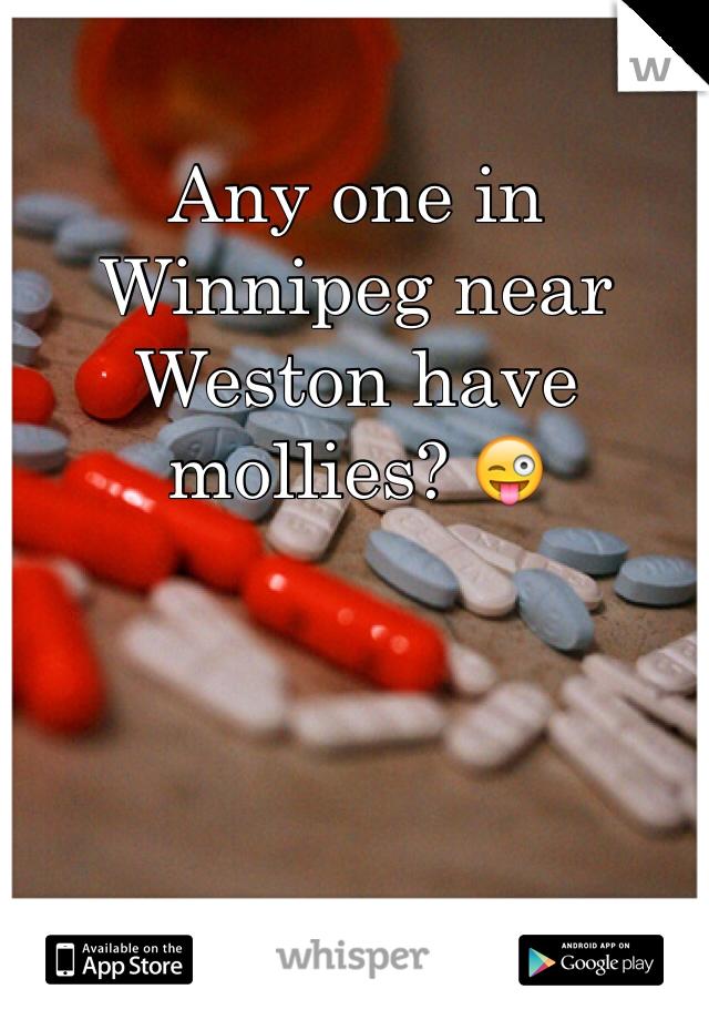 Any one in Winnipeg near Weston have mollies? 😜