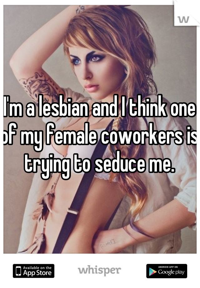Lesbian co workers