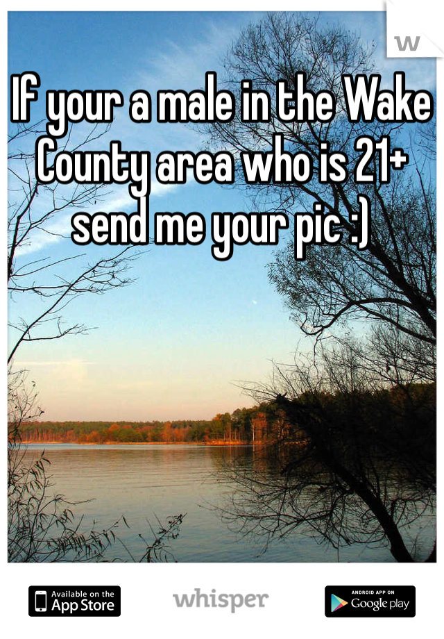 If your a male in the Wake County area who is 21+ send me your pic :)