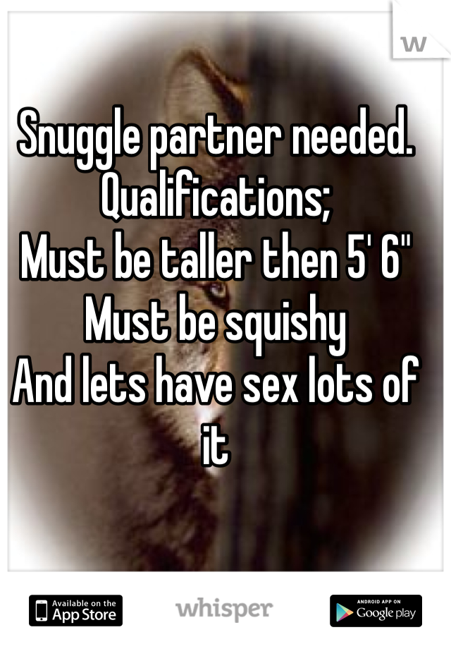 Sex partner wanted
