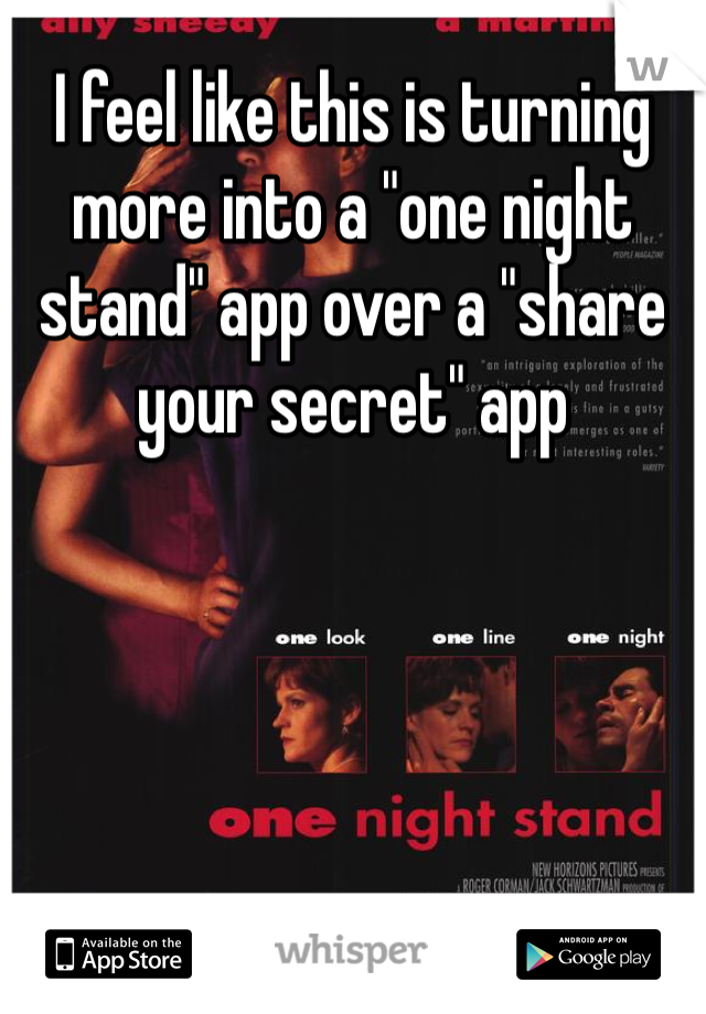 Android stand one night app One Night