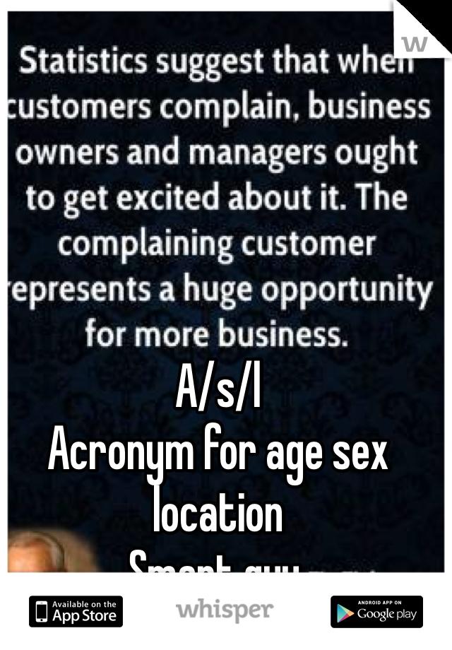 Age l location s sex