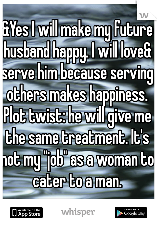 what makes husband happy