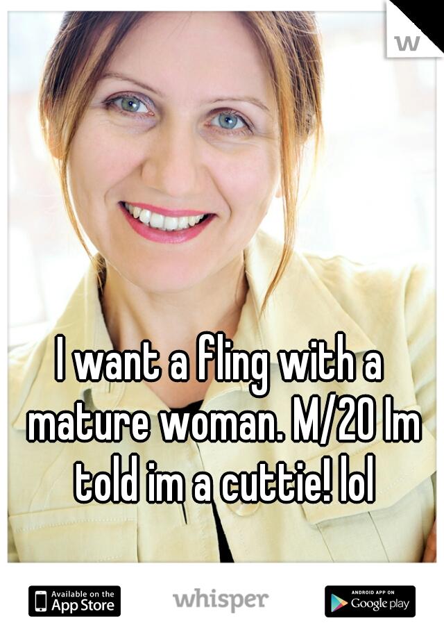 I want mature women