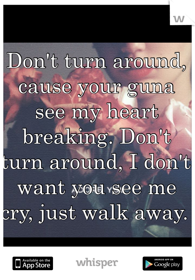 Don't Turn Around Lyrics