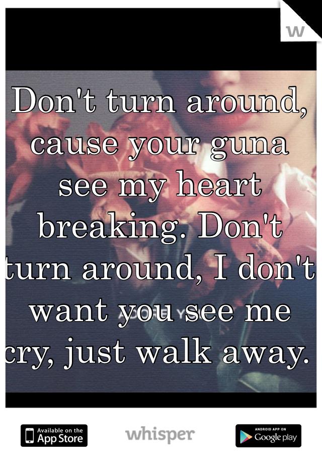 Don't Turn Around Lyrics