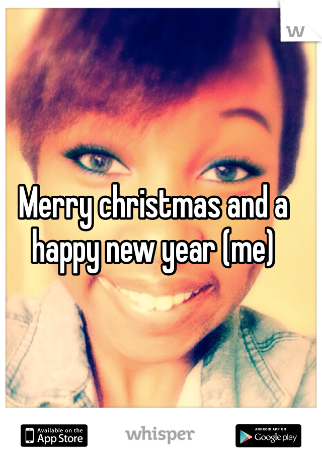 Merry christmas and a happy new year (me)