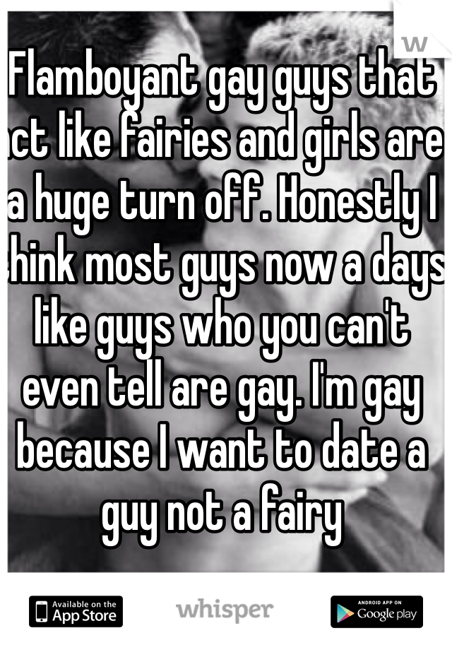 Gay guys dating girls