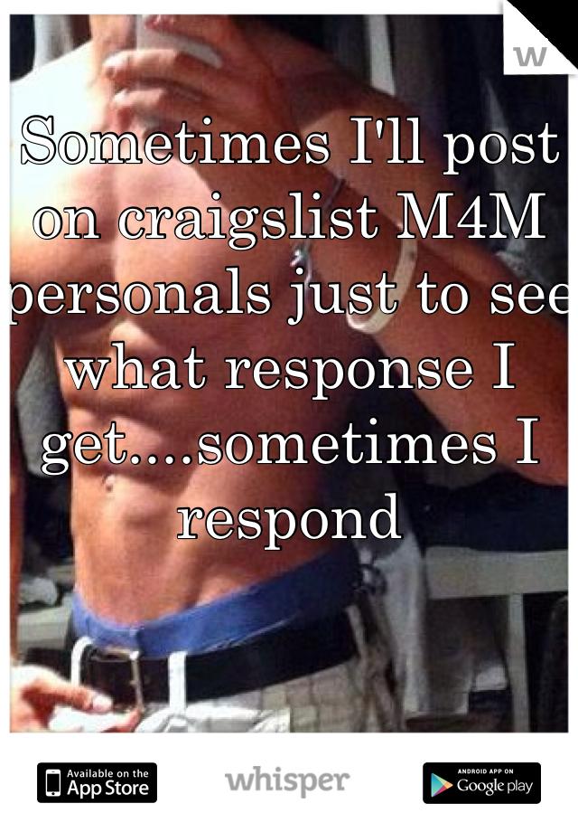 Craigslist personals man4man