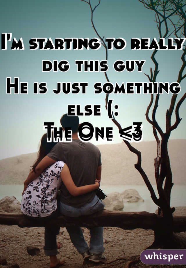I'm starting to really dig this guy He is just something else (:  The One <3
