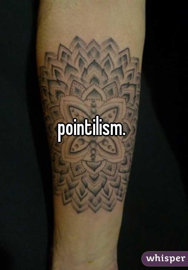 pointilism.