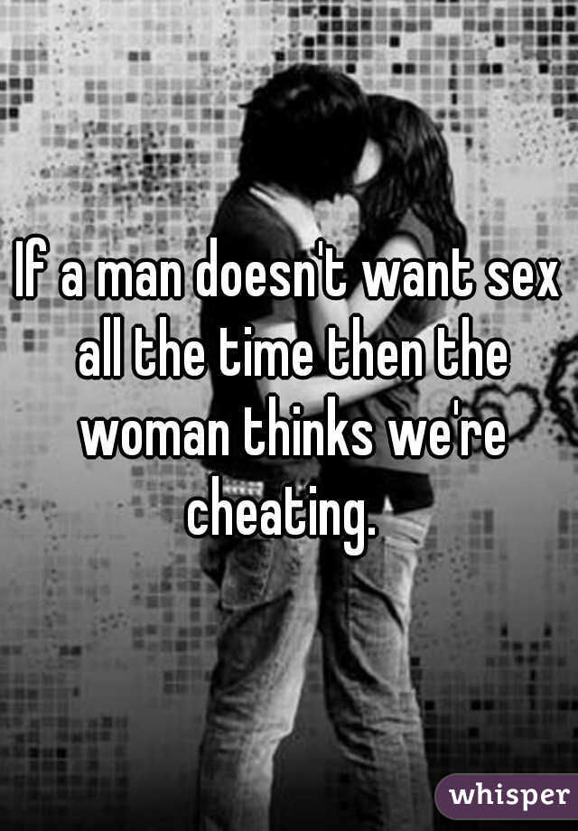 Man doesnt want sex
