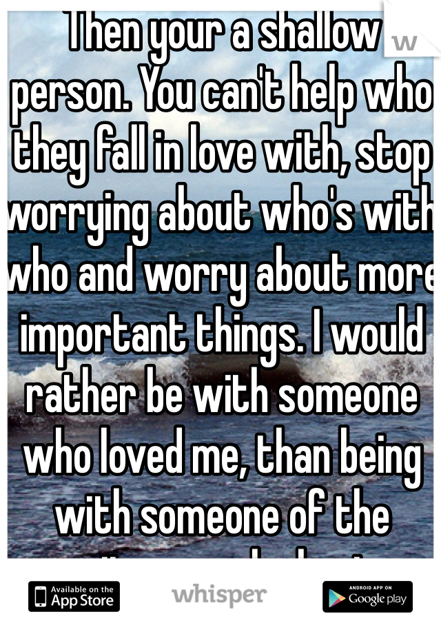 How to stop worrying about someone you love