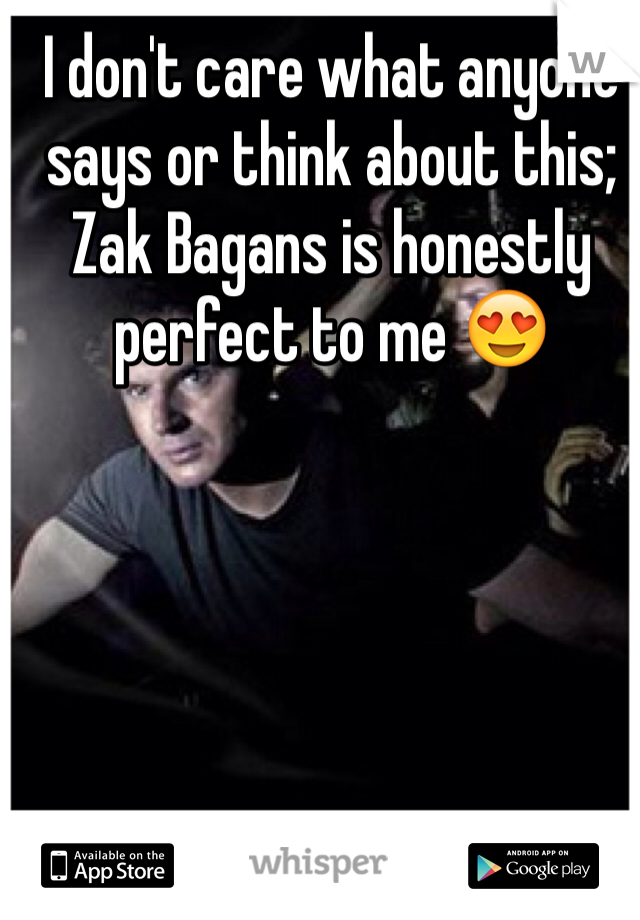 I don't care what anyone says or think about this; Zak Bagans is honestly perfect to me 😍