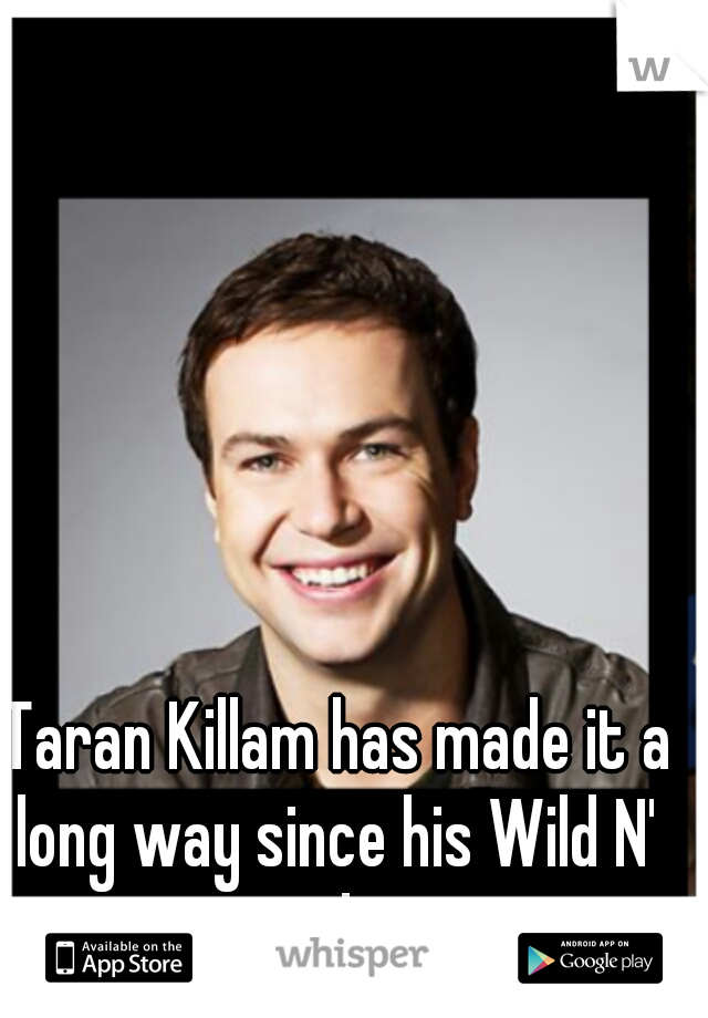 Taran Killam has made it a long way since his Wild N' Out days.