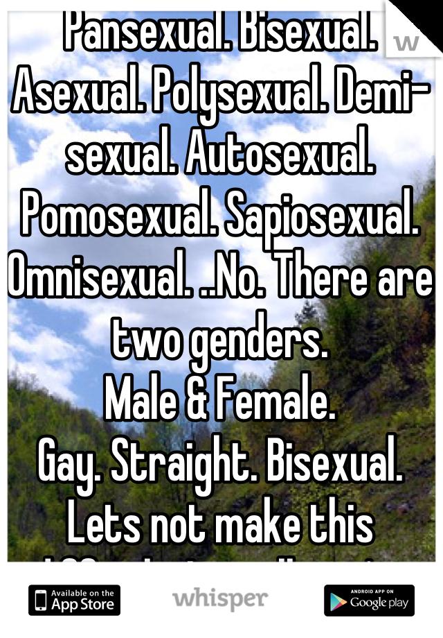 Are sapiosexuals bisexual