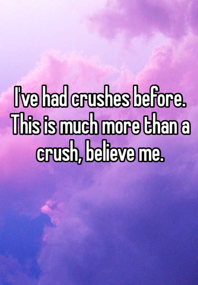 More than a crush