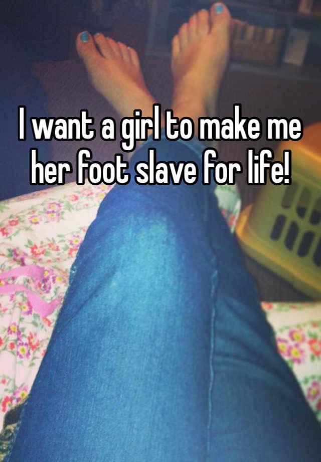 Real Life Foot Slave