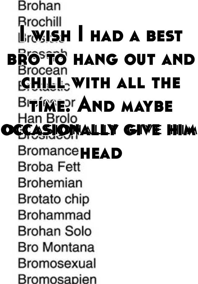 Bromosexual bro montana