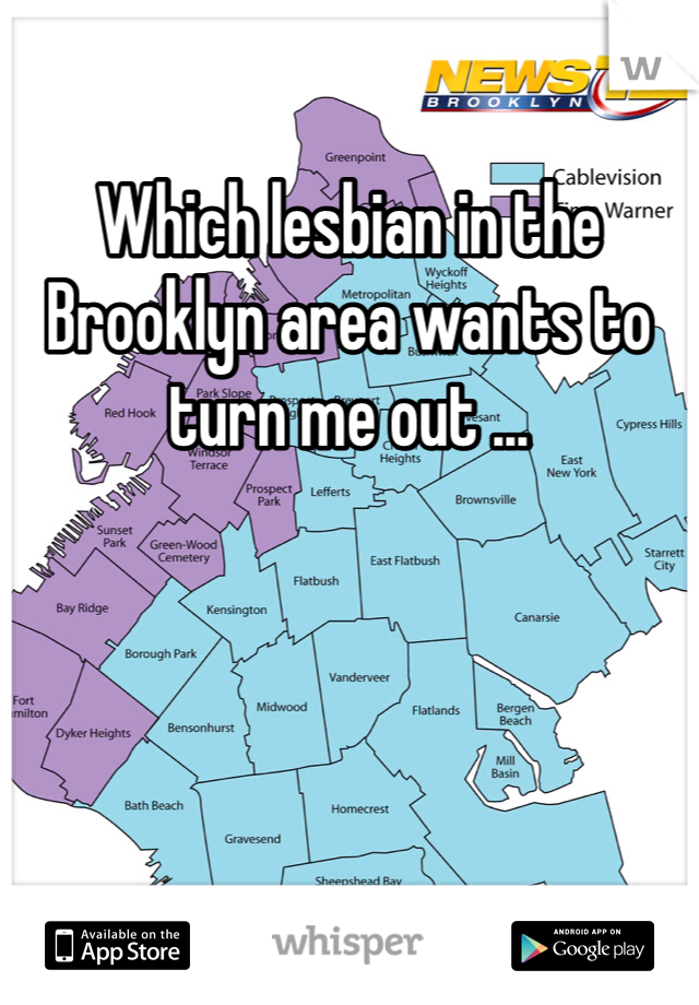 Which lesbian in the Brooklyn area wants to turn me out ...