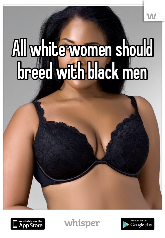 man wife caption breeding white Black