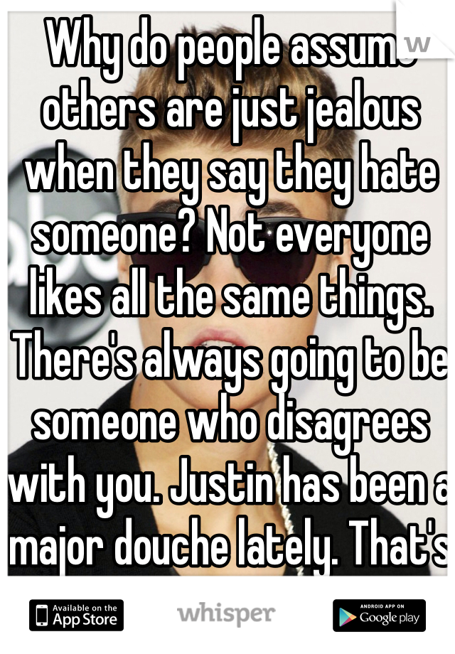 how to not be jealous of others