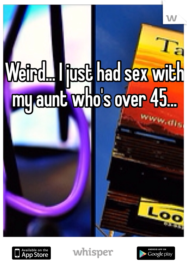 Had sex with my aunt images 40