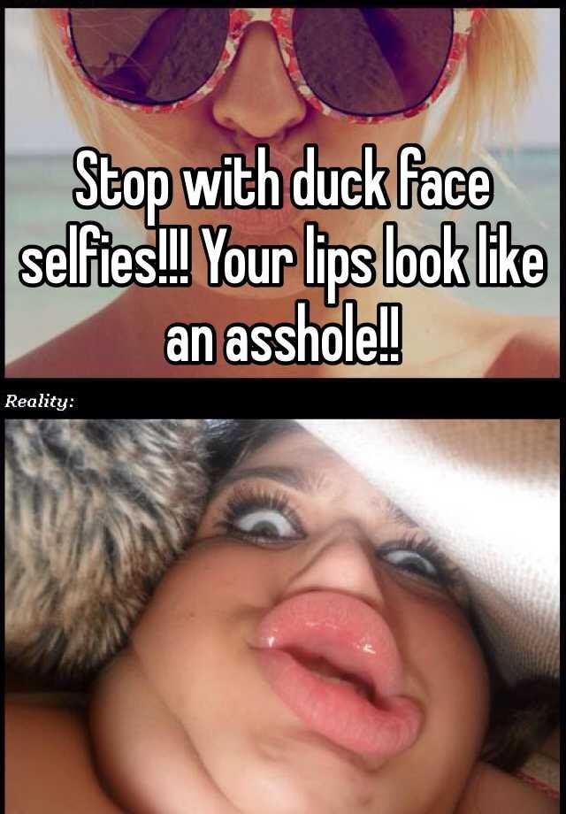 Stop duck lips