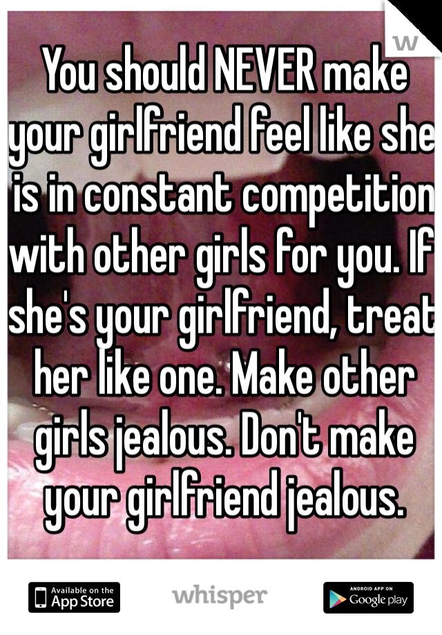 How to make my gf jealous