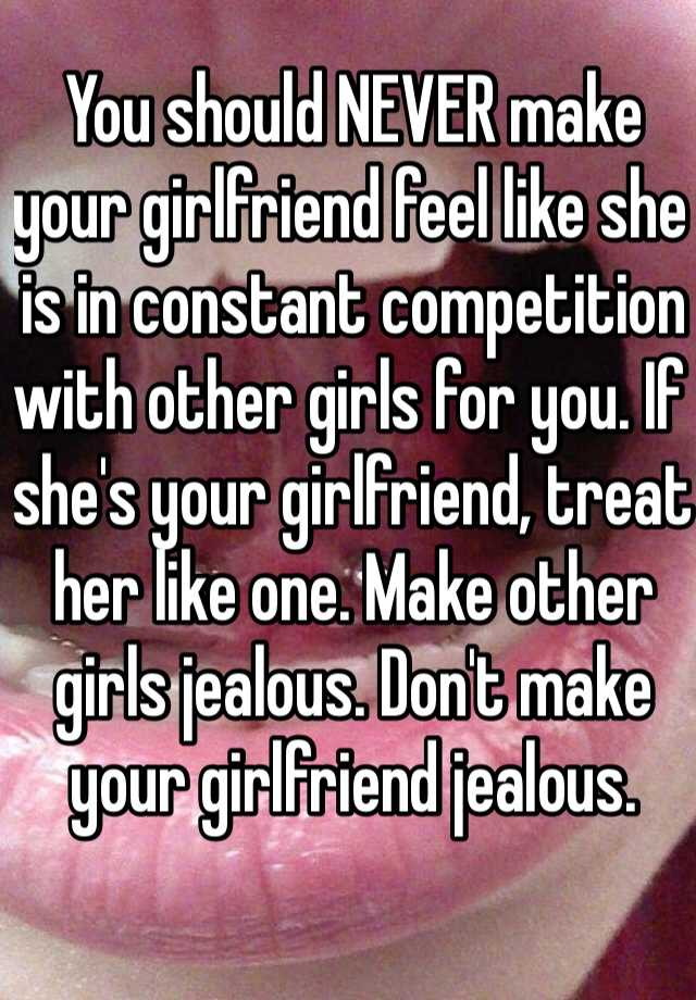 How to tell if she is jealous