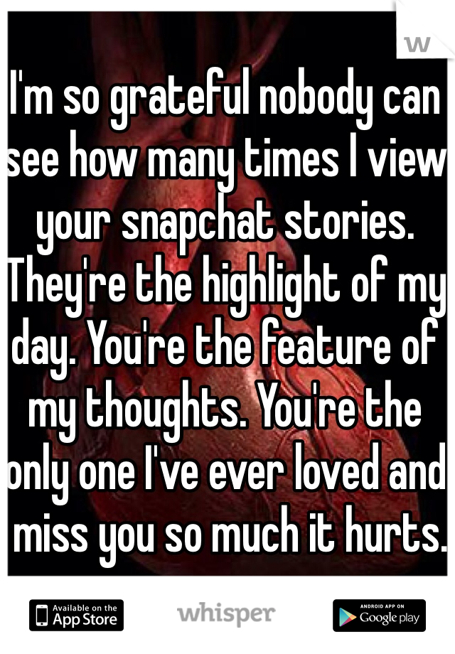 can someone see how many times i view their snapchat story