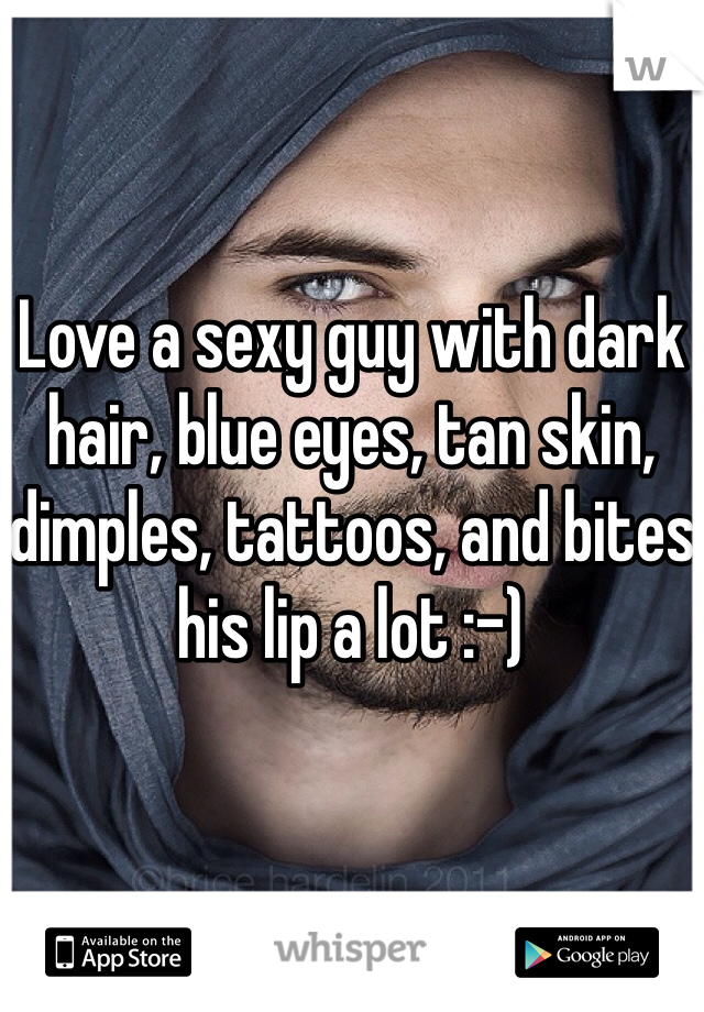 Men blue eyes with sexy Why are