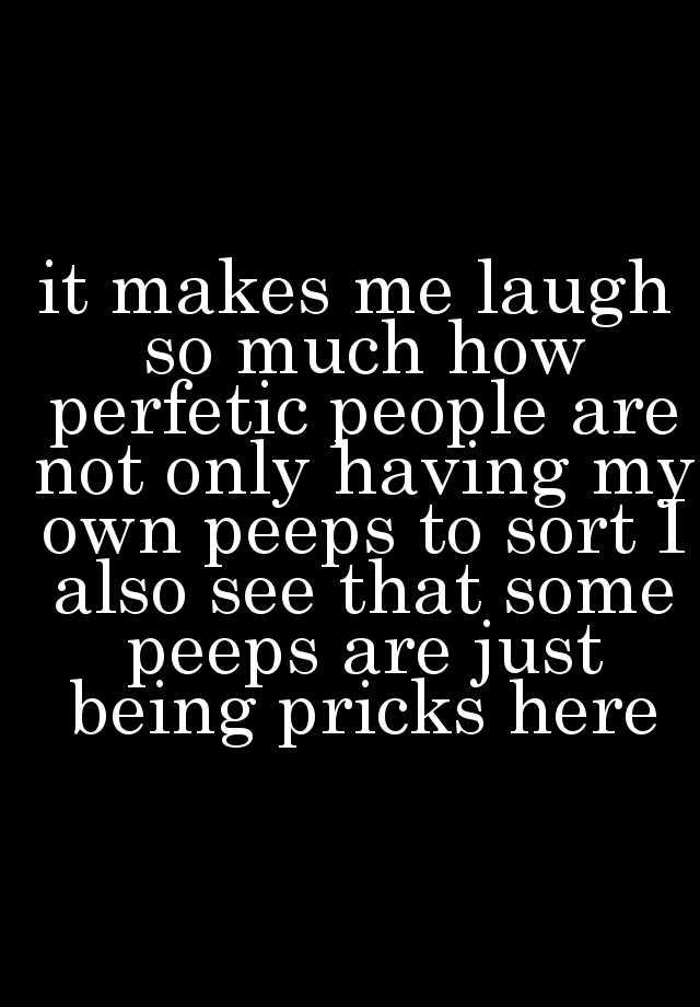 Perfetic people