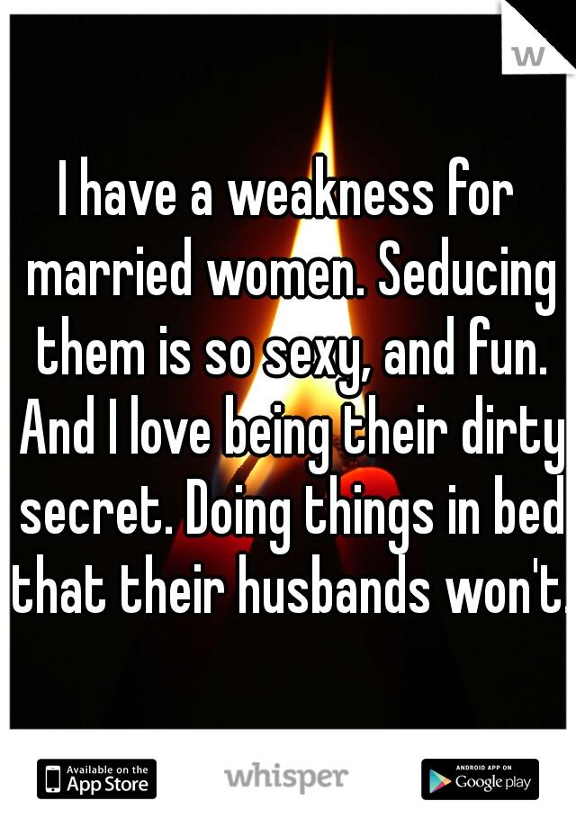 Seducing married women