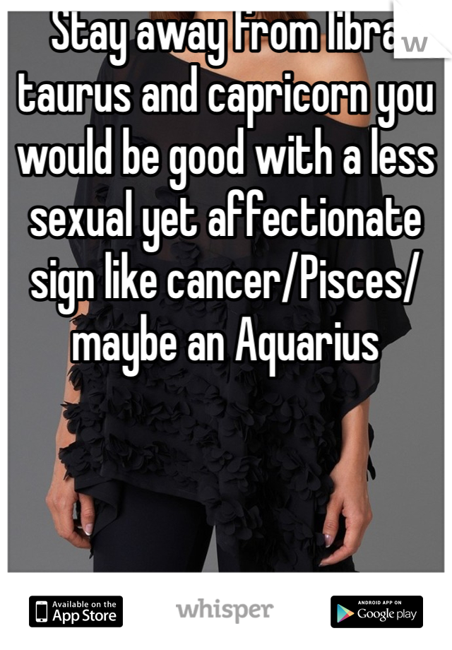libra and cancer sexually