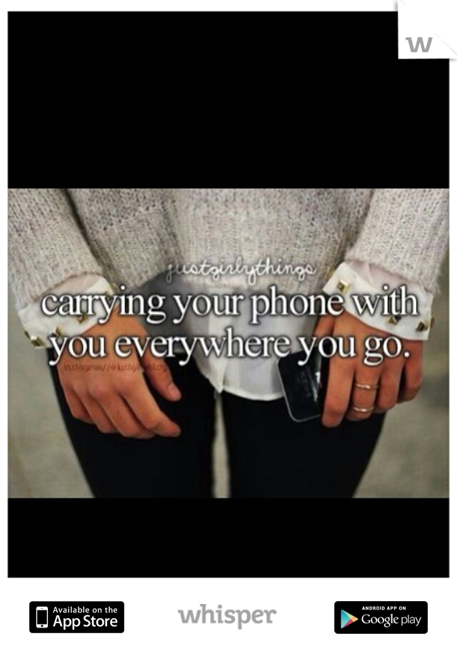 I'm one of those girls that isn't embarrassed to talk about 'girly things' with guys