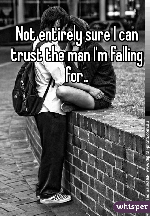 Not entirely sure I can trust the man I'm falling for..