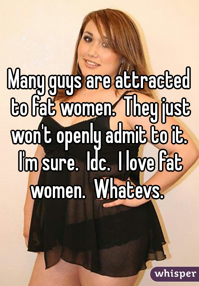 Love fat women