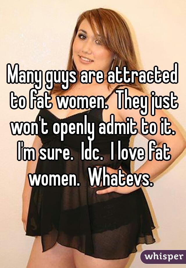 I Love Fat Woman