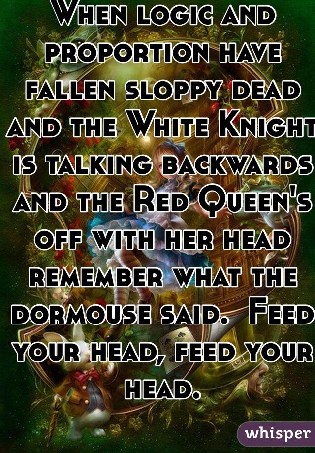 What is sloppy head