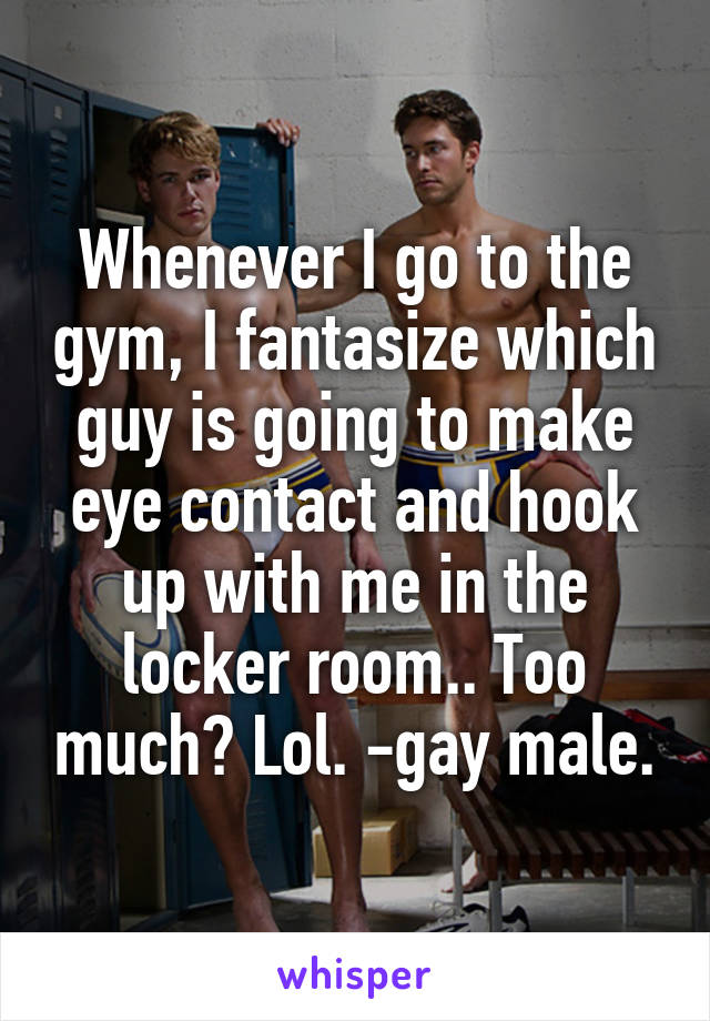 Hook up at the gym
