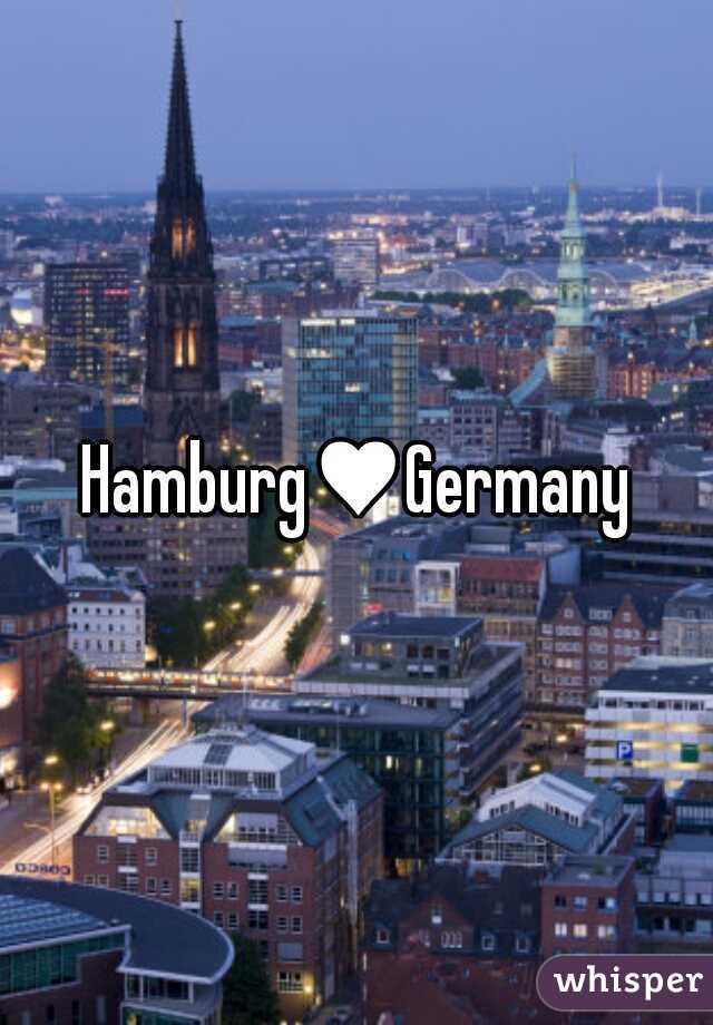 Hamburg♥Germany