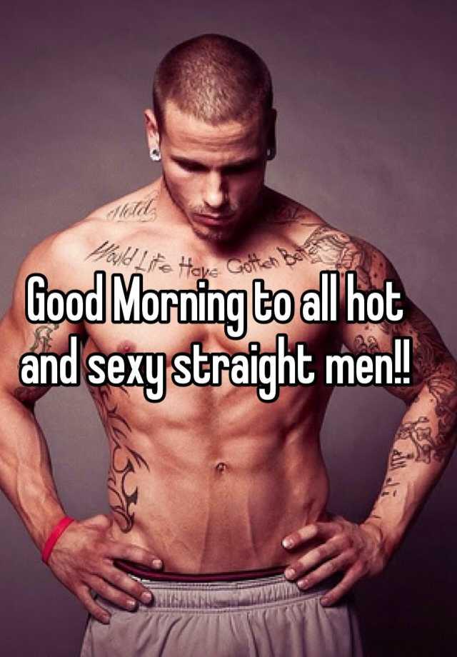 Hot straight men