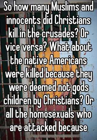 how many christians are killed